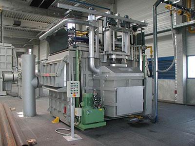 铝屑熔化炉